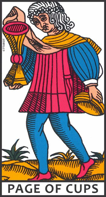 Page Of Cups Meaning In The Tarot 7tarot